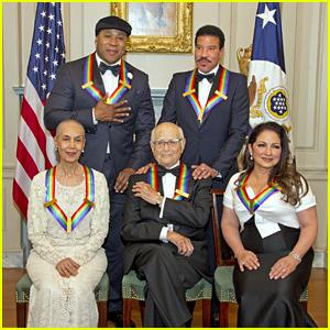 LL Cool J, Lionel Richie & Gloria Estefan Receive Kennedy Center Honors!