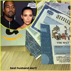 Kanye West Gave Kim Kardashian Hundreds of Thousands of Dollars in Stocks for Christmas
