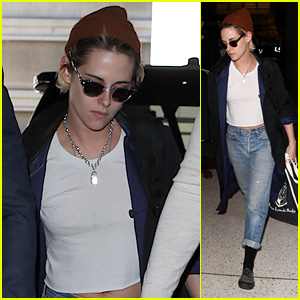 Kristen Stewart Spotted Heading Out of Los Angeles!