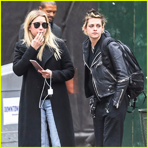 Kristen Stewart & Ashley Benson Hang Out in New York City!