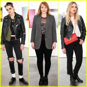 Kristen Stewart & Bryce Dallas Howard Remember Anton Yelchin at Provocative Beauty Reception!