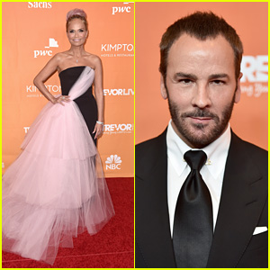 Honorees Kristin Chenoweth & Tom Ford Hit the Red Carpet at TrevorLIVE LA 2017!