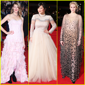 Laura Dern, Kelly Marie Tran & Gwendoline Christie Glam Up at 'Star Wars: The Last Jedi' Premiere in London!