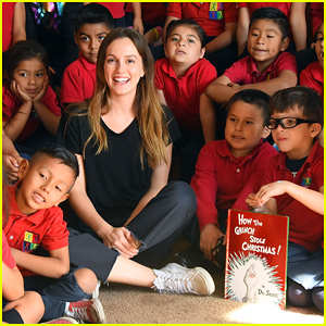 Leighton Meester Helps Spread Holiday Joy with Feeding America!