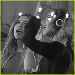 Leona Lewis Teams Up with Fifth Harmony's Dinah Jane for a Christmas Medley - Watch Now!