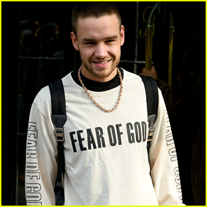 Liam Payne Rocks a Fear of God Shirt While Heading to the Studio!