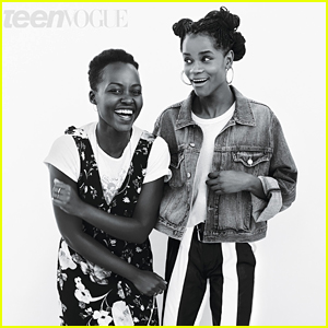 Lupita Nyong'o & Letitia Wright Reflect on Being in 'Black Panther'