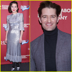Maggie Gyllenhaal & Matthew Morrison Support NYC Theater at 'Damn Yankees' Reading