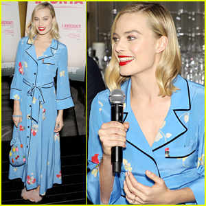 Margot Robbie Gets Emotional When Learning About SAG Award Nomination - Watch Now!
