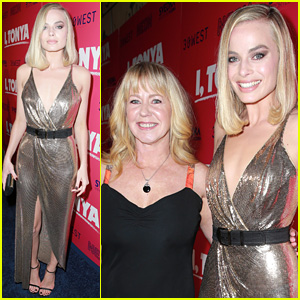Margot Robbie Joins the Real Tonya Harding at 'I, Tonya' L.A. Premiere