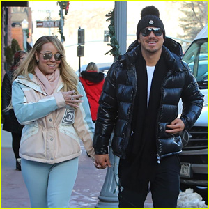 Mariah Carey & Boyfriend Bryan Tanaka Enjoy a Winter Stroll in Aspen!