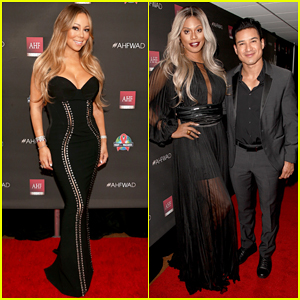Mariah Carey Hits Stage at AHF World AIDS DAY Concert After Recovering from Respiratory Infection!