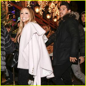 Mariah Carey & Boyfriend Bryan Tanaka Enjoy a Night Out in Paris!