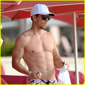 Mark Wahlberg Shows Off His Hot Body While Enjoying His Family Vacation in Barbados!