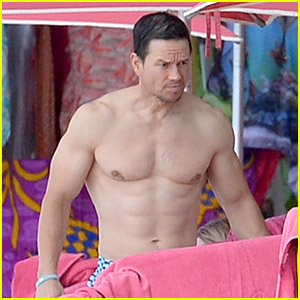 Mark Wahlberg Shows Off His Buff Body in Barbados!