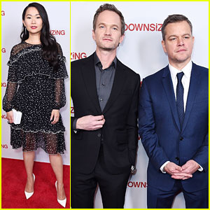 Matt Damon, Neil Patrick Harris, & Hong Chau Team Up for 'Downsizing' Screening