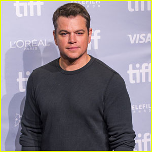 Matt Damon Says We Need to Talk More About Men Who Aren't Sexual Predators