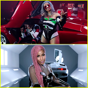 Migos Cardi B Amp Nicki Minaj Team Up In Motorsport Music Video Watch Here Cardi B Migos