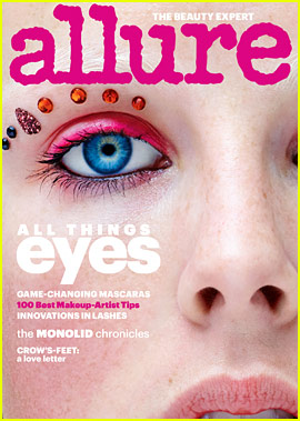 Model Edie Campbell Covers Allure's Eye Guide for January!