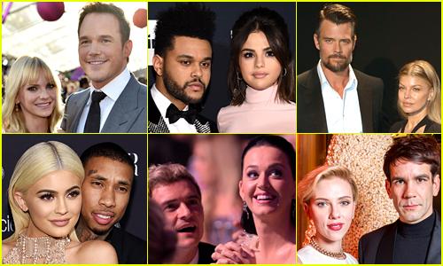 36 Most Shocking Celebrity Breakups of 2017