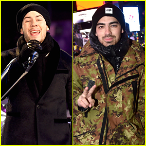 Nick Jonas' Brother Joe Supports Him at New Year's Eve Show!