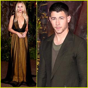 Nick Jonas Steps Out for 'Jumanji' Premiere After First-Ever Golden Globe Nomination