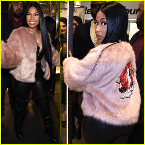 Nicki Minaj Shows Off Her 'H&M' Collection at Prive Reveaux Launch!