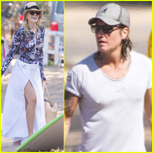 Nicole Kidman & Keith Urban Spend the Day at the Beach in Sydney!