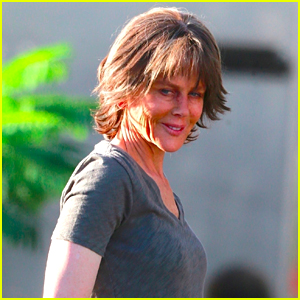Nicole Kidman Is Barely Recognizable on Set!