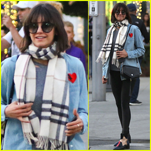 Nina Dobrev is All Smiles While Christmas Shopping!