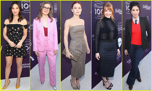 Olivia Munn, Gillian Jacobs, Jennifer Morrison & More Step Out for THR's Women In Entertainment Breakfast!