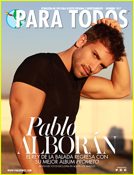 Spanish Singer Pablo Alboran Heats Up the Cover of 'Para Todos'