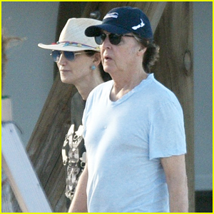 Paul McCartney & Wife Nancy Shevell Enjoy Holiday Break in St. Barts!