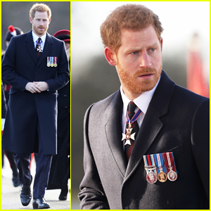 Prince Harry Hands Out Honors at Sovereign's Parade After Announcing Meghan Markle Wedding Date!