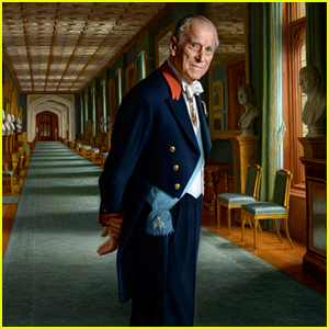 Prince Philip Poses for New Portrait at Age 96!