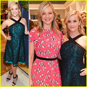 Reese Witherspoon Celebrates Draper James VIP Grand Opening!