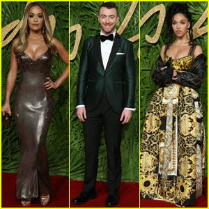 Rita Ora, Sam Smith & FKA Twigs Show Their Style at Fashion Awards 2017