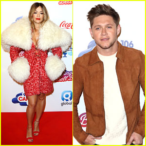 Rita Ora & Niall Horan Attend Capital Jingle Bell Ball in London