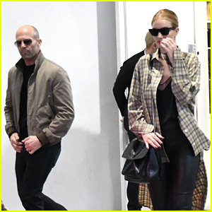 Rosie Huntington-Whiteley & Jason Statham Go Shopping in Beverly Hills