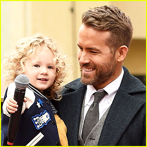 Ryan Reynolds Shares Christmas Convo with Daughter James