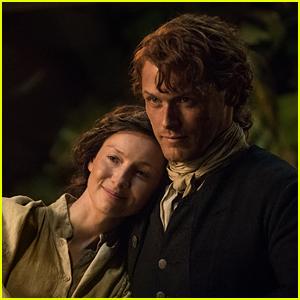 Sam Heughan Congratulates Caitriona Balfe on 'Outlander' Golden Globe Nomination!
