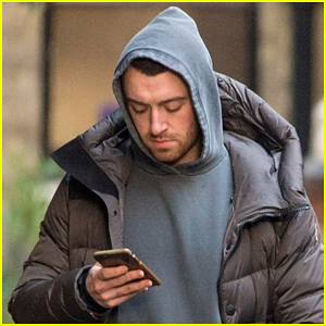 Sam Smith Bundles Up for a Stroll in London