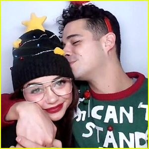 Sarah Hyland Spends Christmas with Boyfriend Wells Adams & His Family!