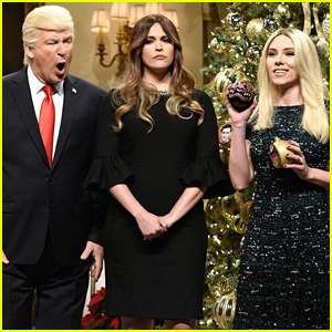 Scarlet Johansson Returns as Ivanka Trump for 'SNL' Christmas Open - Watch Now!