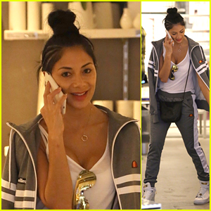 Nicole Scherzinger Looks Cool & Casual While Running Errands in LA!