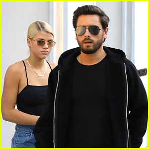 Scott Disick & Sofia Richie Step Out for Afternoon Date