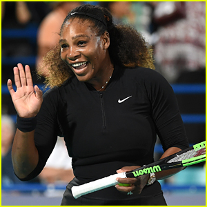 Serena Williams Plays in First Tennis Match Since Giving Birth!