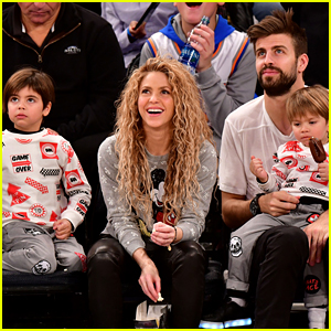 Shakira & Gerard Pique Bring Their Kids to Christmas Day Basketball Game!