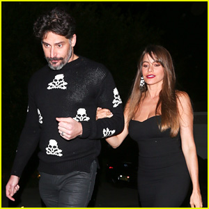 Sofia Vergara & Joe Manganiello Kick Off Holiday Season at Jennifer Klein's Party!
