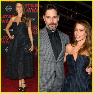 Sofia Vergara & Joe Manganiello Step Out for Date Night at 'Last Jedi' Premiere